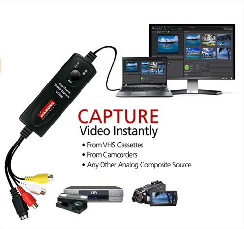 convert vhs to digital diamond video capture vc500