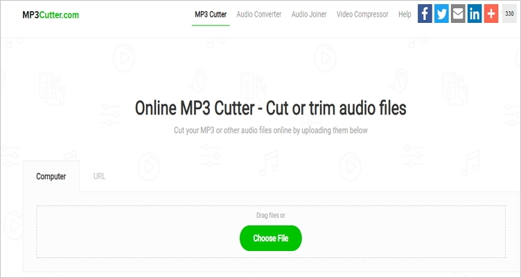 trim mp3 online mp3cutter
