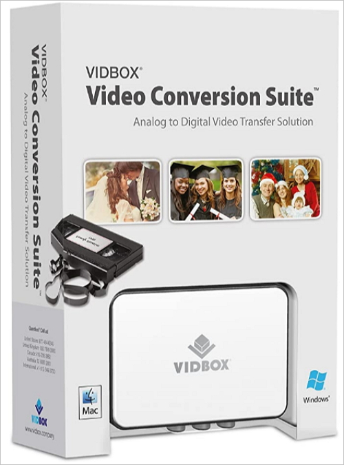 convert vhs to digital vidbox