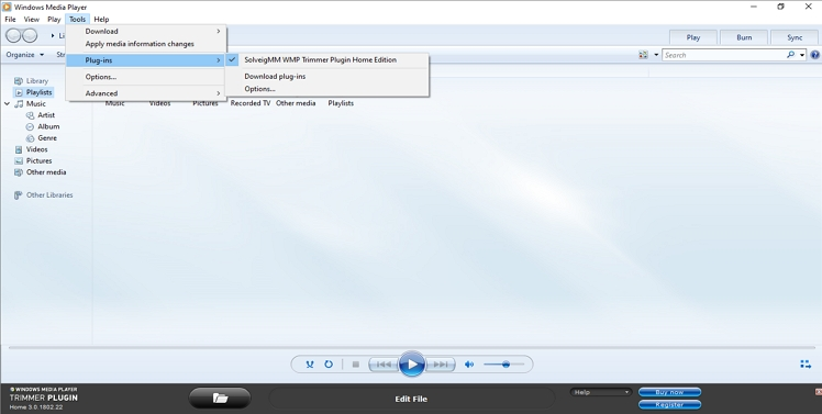 trim mp3 with windows media player