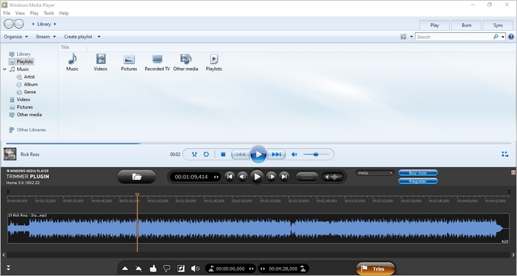edit mp3 with windows media player