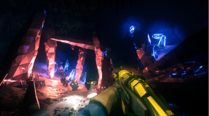 games on steam deep rock galactic