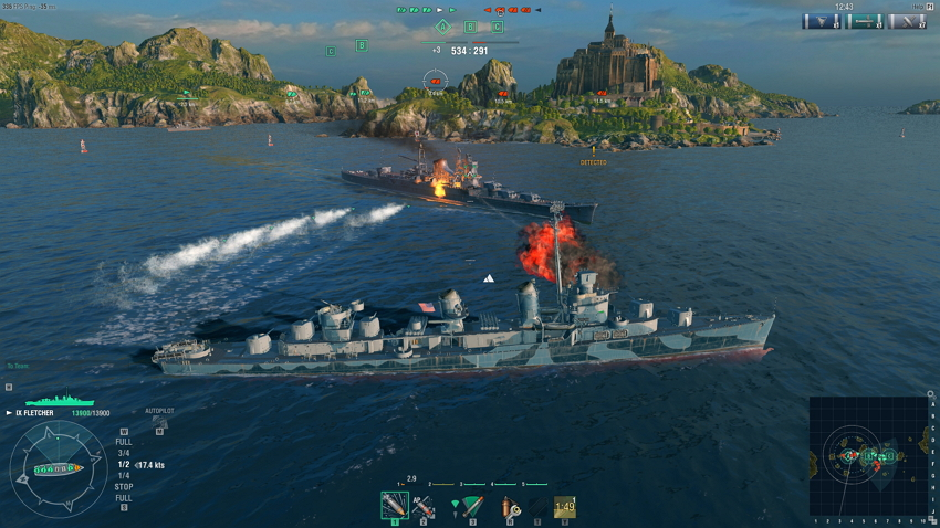free steam game world of warships