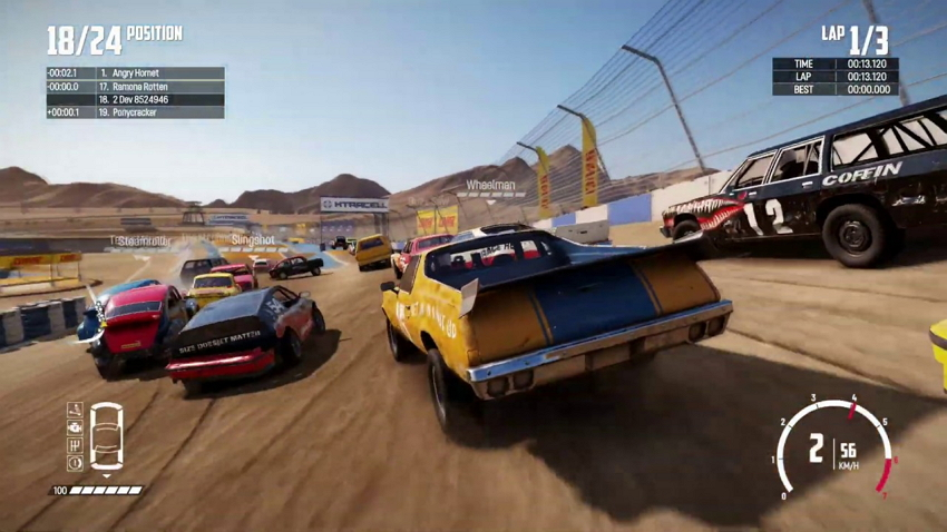 best racing game wreckfest