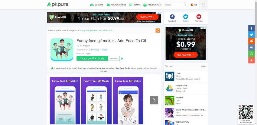 Face GIF-Fuuny Face GIF Maker