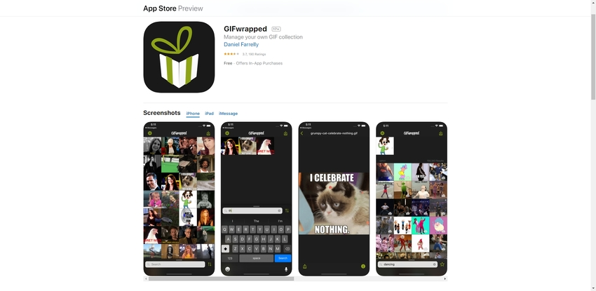 GIF Download App-GIFWrapped
