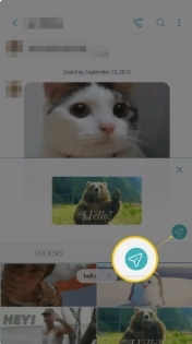Add GIF to Text Android