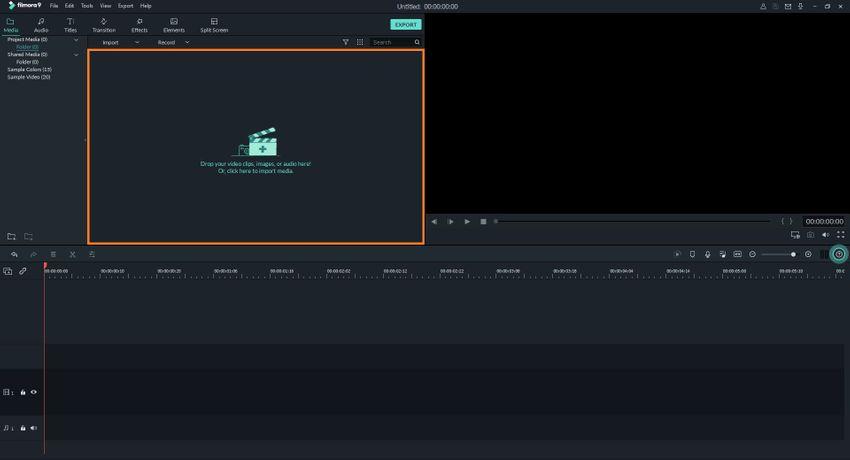 Add a GIF File to Filmora