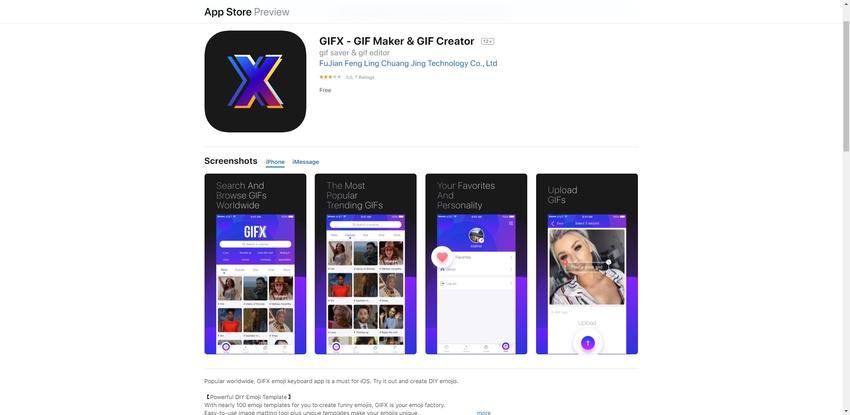GIF to Video App-GIFX