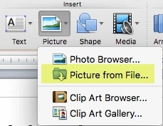 Add GIF to PowerPoint in Mac