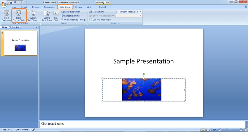 View GIF in PowerPoint