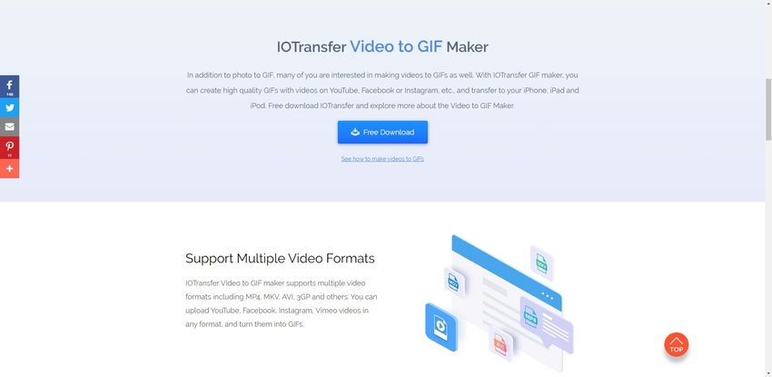 Make GIF from Instagram Video-IOTransfer
