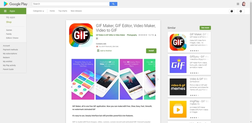 How to Make a GIF on Android