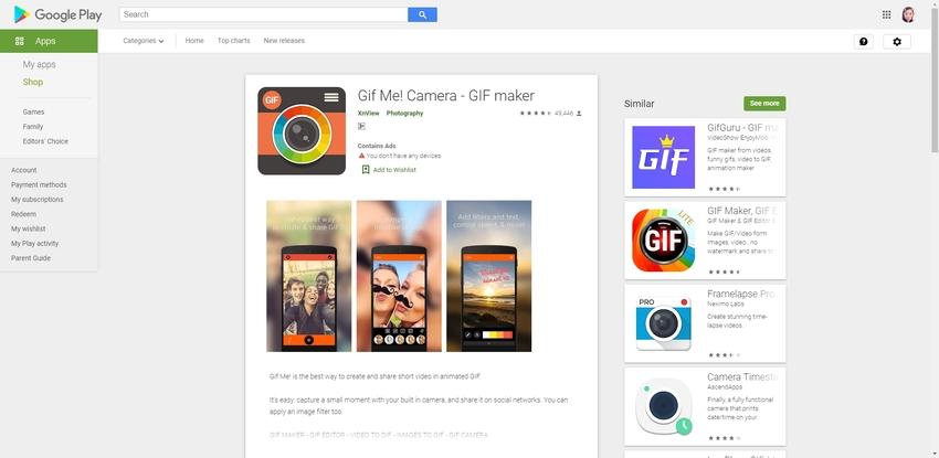 Make GIF Android-Gif Me