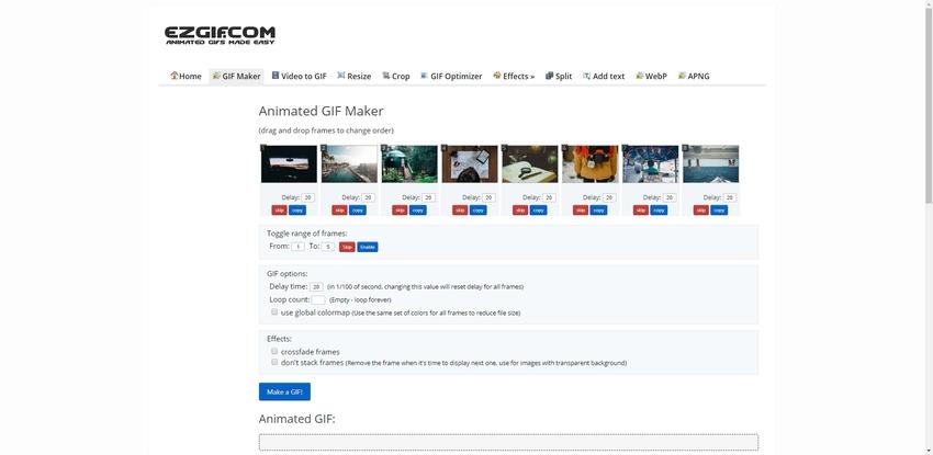 Make GIF for Tumblr-EZGIF