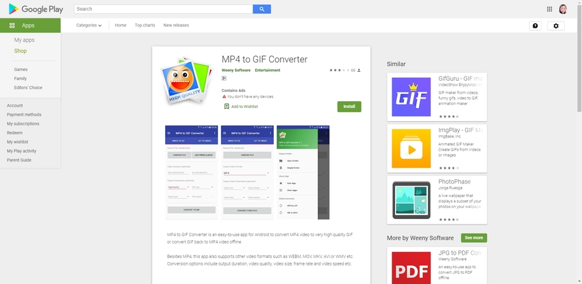 MP4 to GIF Converter