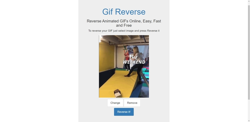 Reverse GIF File-Gif Reverse