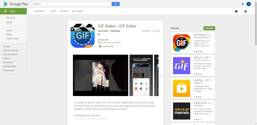 GIF Maker Free App-GIF Maker