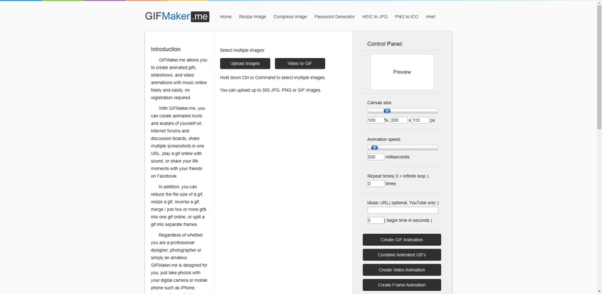 Free GIF Image Maker-GIFMaker