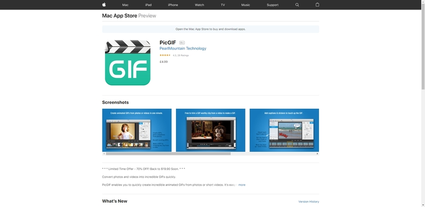 GIF Creator and Editor-PicGIF