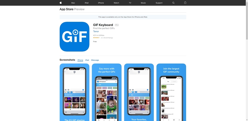 WhatsApp Animated GIFs-GIF Keyboard