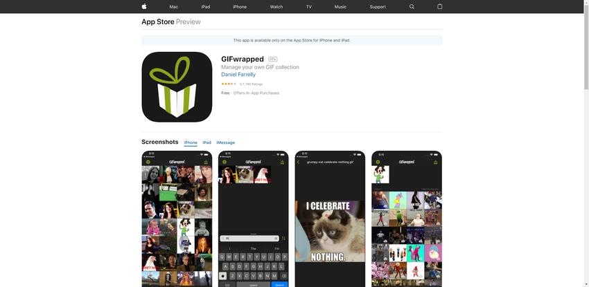 WhatsApp GIF-GIF Wrapped