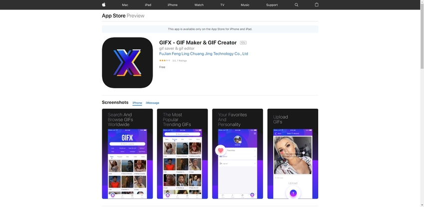 Make GIF from Youtube on Phone-GIFX