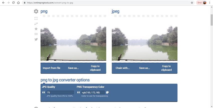 onine PNG to JPG converter-Online PNG Tools