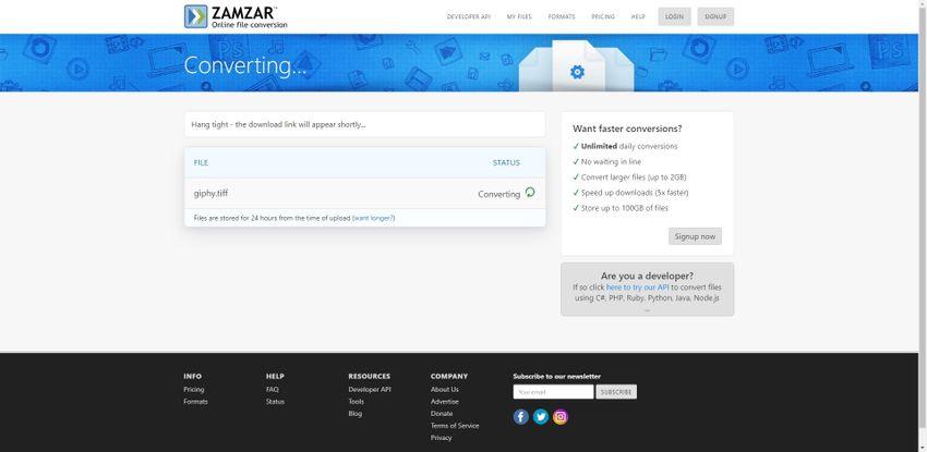 convert AI to TIFF format-Zamzar