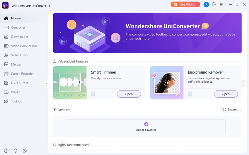 download and run UniConverter