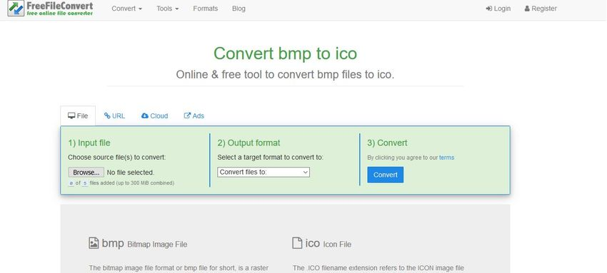 BMP to ICO-Free File Convert