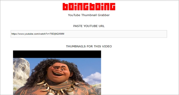 online youtube thumbnail download