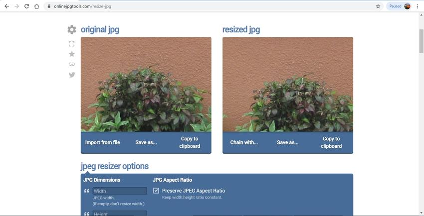 Reduce JPG Image-Online JPG Tools