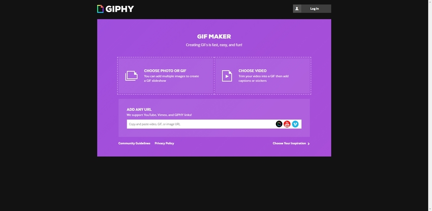 Online Convert to GIF-Giphy