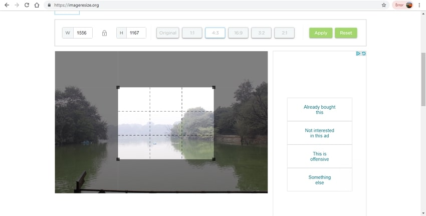 JPG image editing tool-ImageResize