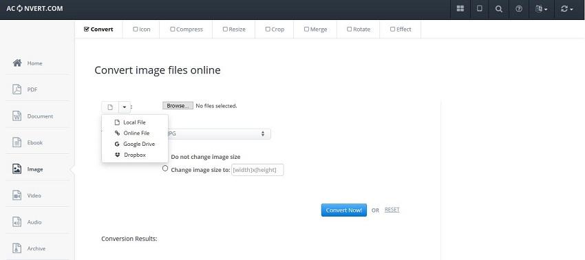 DDS file to JPG file-AConvert