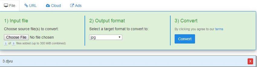 choose a JPG format-freefileconvert