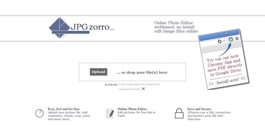 edit pictures for free-JPG Zorro