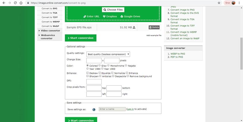 convert EPS to PNG-Online Convert