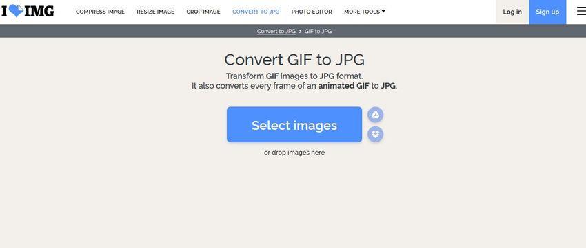 convert GIF file into JPG-ILoveImage
