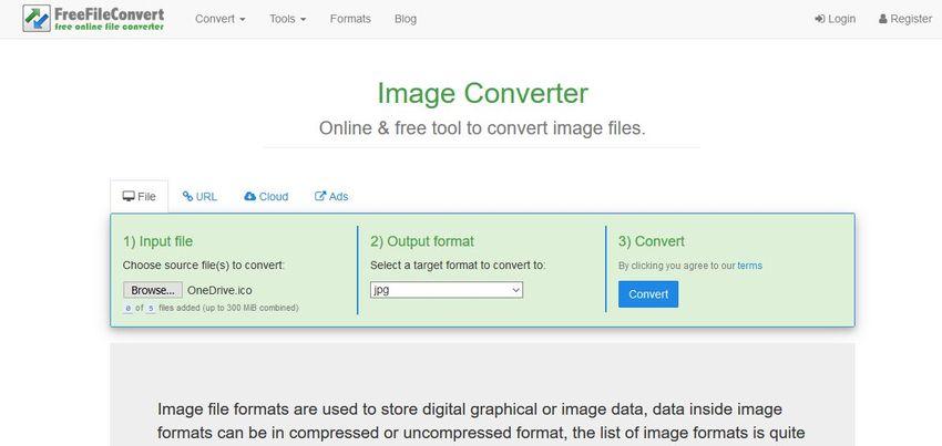 freefileconvert-Free File Convert
