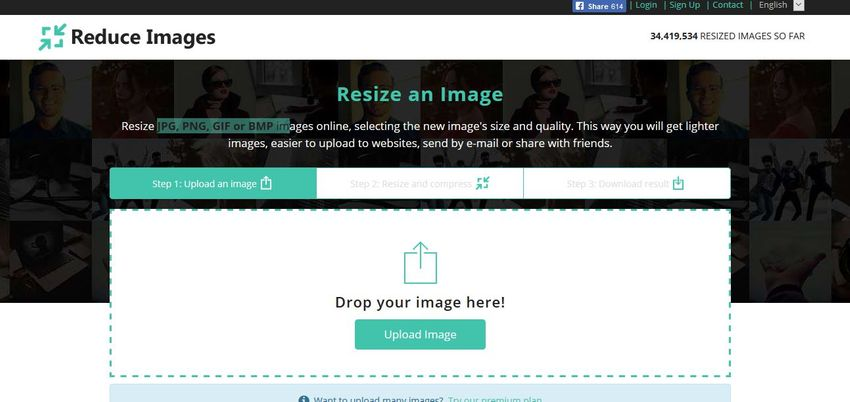 online image converter-Reduce Images