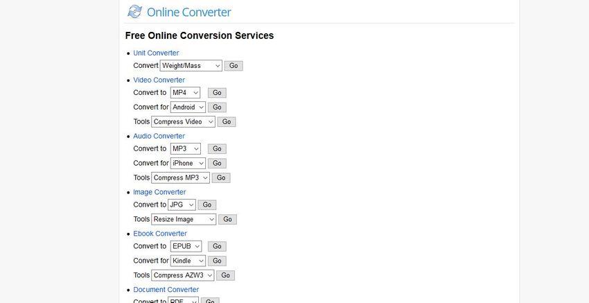 convert JPG PNG BMP-Online Converter