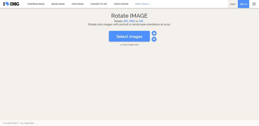 Rotate JPG image file-iLoveIMG