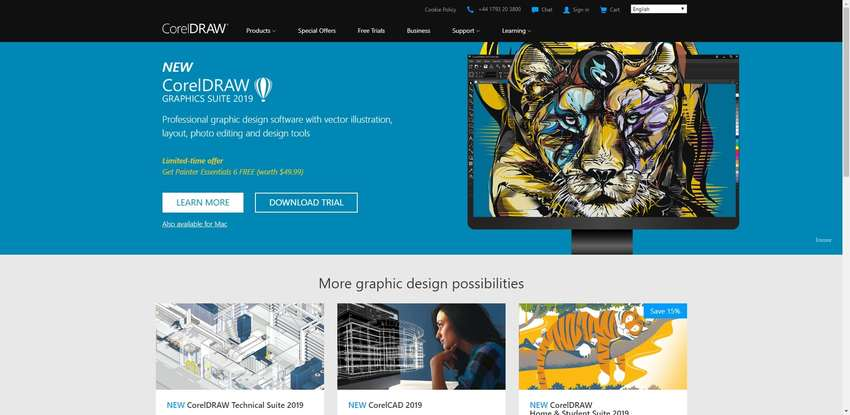 CorelDRAW software