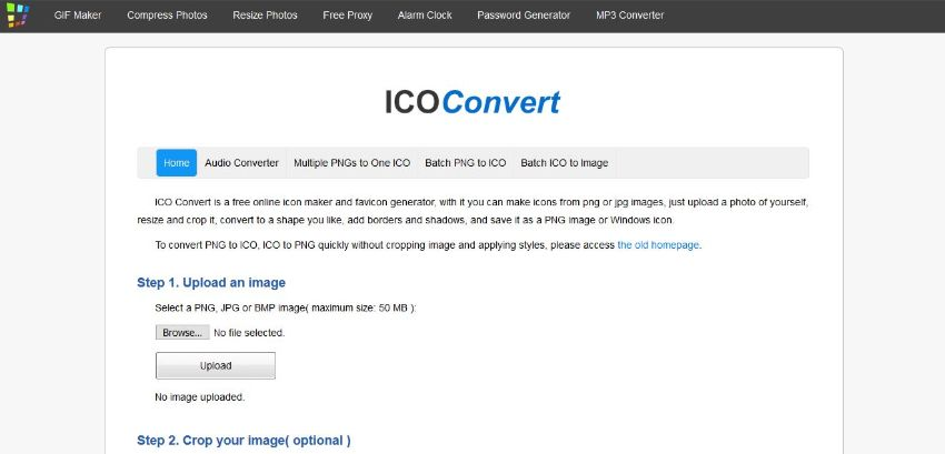 ICO Converter tool for JPG to ICO-ICO Convert