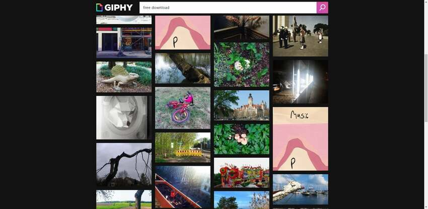 Free download GIF in Giphy