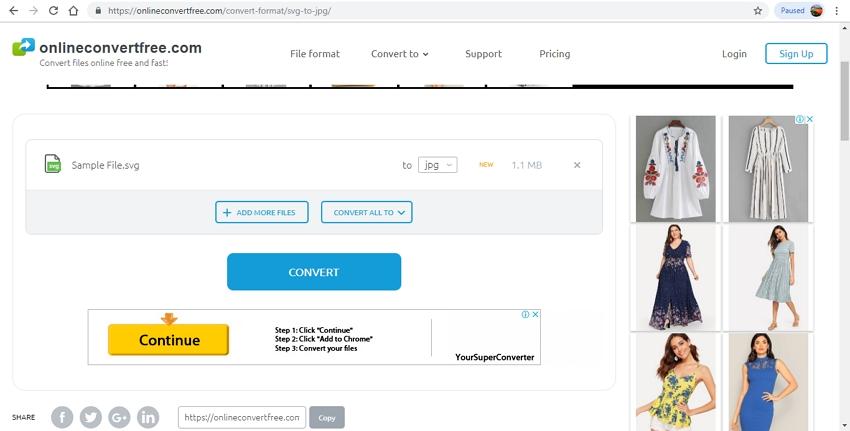 SVG to JPG converter-OnlineConvertFree