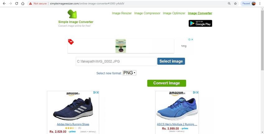 PNG Converter-SimpleImageConverter