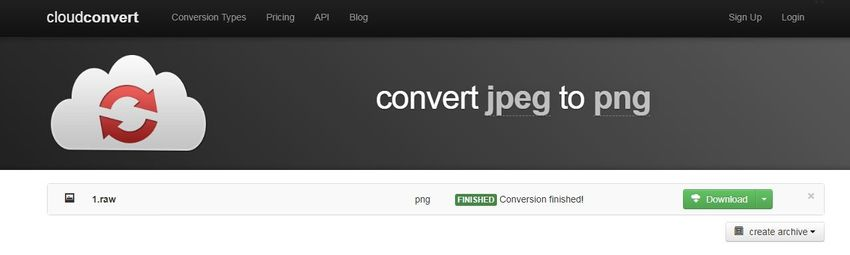 converted and download-cloudconvert